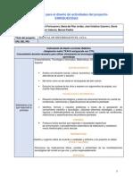 Matriz TPACK Para El Diseño de Actividades Enriquecida