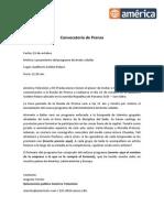 Convocatoria de Prensa MODIFICADO