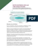 Ambiente Externo de Las Organizaciones