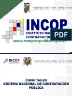 Presentación Curso Presencial SNCP 2013