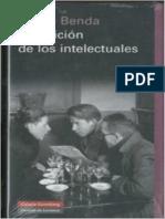 Benda Julien - La Traicion de Los Intelectuales