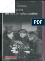 Benda Julien - La Traicion de Los Intelectuales