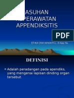 ASKEP APENDIKSITIS