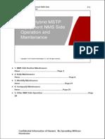(5) OptiX Hybrid MSTP Equipment NMS Side Operation and Maintenance