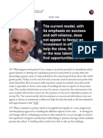 The Pope's Encyclical - Paragraph 196 & 197