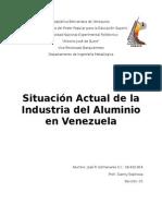 Situacion Actual Del Aluminio en Venezuela