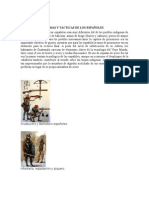 Armas y Tácticas de Los Españoles