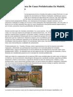 Empresa Constructora De Casas Prefabricadas En Madrid, Barcelona, Valencia