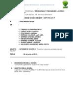 Informe de Sesiones 03