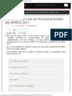 Descargar Las Actualizaciones de Office 2013 – Freelance-IT Ags, Mex.
