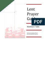 Lenten Prayer Guide