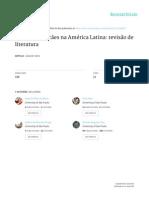 Abandono de Cães Na America Latina - Revisão de Literatura