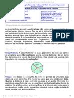 Matematica Essencial_ Geometria_ Circulo, Circunferencia e Arcos