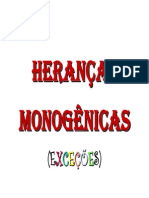 Heranças monogênicas