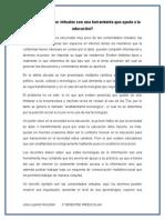 Las CV. Ensayo.lina