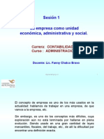Administración de Negocios