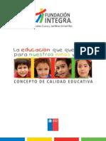 Concepto Calidad Educativa
