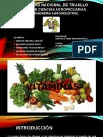 Vitaminas Liposolubles e Hidrosolubles - Exp.