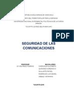 Seguridad de Las Comunicaciones