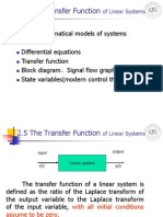 B_lecture3 the Transfer Function and Block Diagram Automatic control System