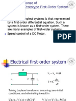 B_lecture7 Time Responses of Prototype Systems Automatic control System