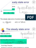 B_lecture9 the Steaty-state Error Automatic control System