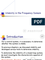 B_lecture14 Stability in the Frequency Domain and Relative Stability Automatic control System