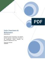 Guia Funciones y Relaciones (Matematica)