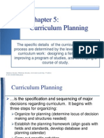 Curriculum Leadership Chapter 5