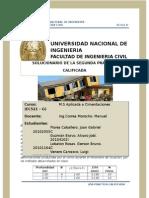 2da Practica Calificada de Cimentaciones Ec521g