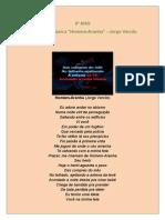 9º Ano Análise Da Música Jorge Versilio