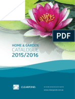Clearpond Catalogue 2015 to 2016