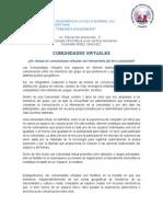 Xiomara Pérez Comunidad Virtual