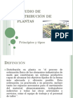 Estudio de Distribución de Planta