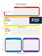 Priority Planner 1