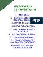 Derivaciones y Arboles Sintacticos