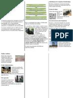 Folder Saneamento