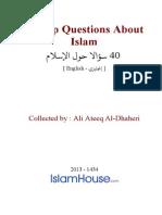En 40 Top Questions About Islam