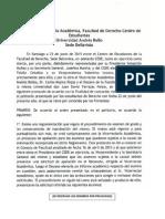 ACUERDO CEDE - FACULTAD DE DERECHO - VICERRECTORIA