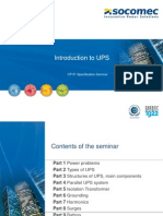 SOCOMEC UPS Presentation 22-11-13