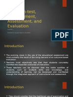 Assessment of Learning 1 / Chapter 1 Test, Non-test, Measurement, Assessment, and Evaluation