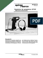 UP-100 modo de uso