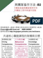 104.11.11-工作團隊與團隊協作方法-B2-1-嘉義大學-詹翔霖教授