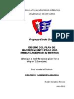 Plan Mantenimiento Rubén González Álvarez