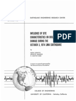 Influence of site characteristics on building damage during the October 3, 1974 Lima earthquake