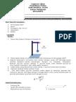 Soal Praktek Fisika 13-14