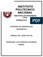 Manual de Sistemas de Informacion Geografica