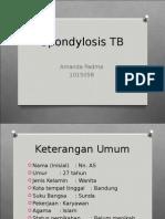 Amanda Padma, Spondylitis TB (Nn as)