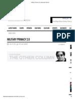 Military Primacy 2.pdf
