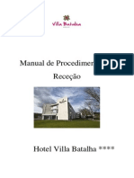 Manual de Procedimentos de Receção